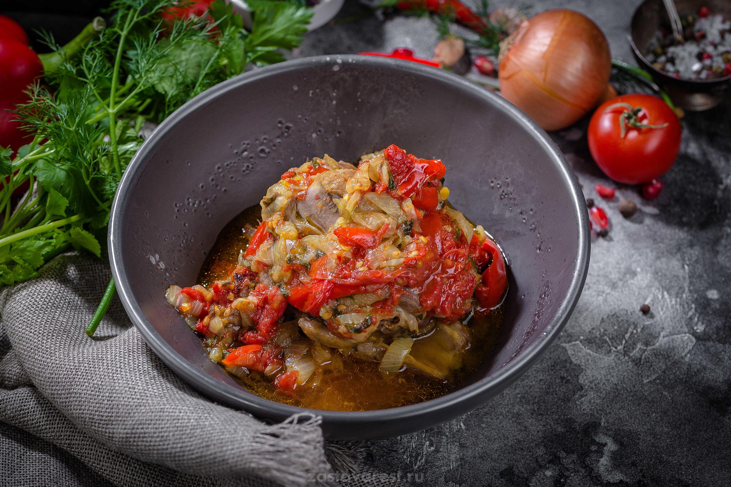 тушеные овощи по армянски фото