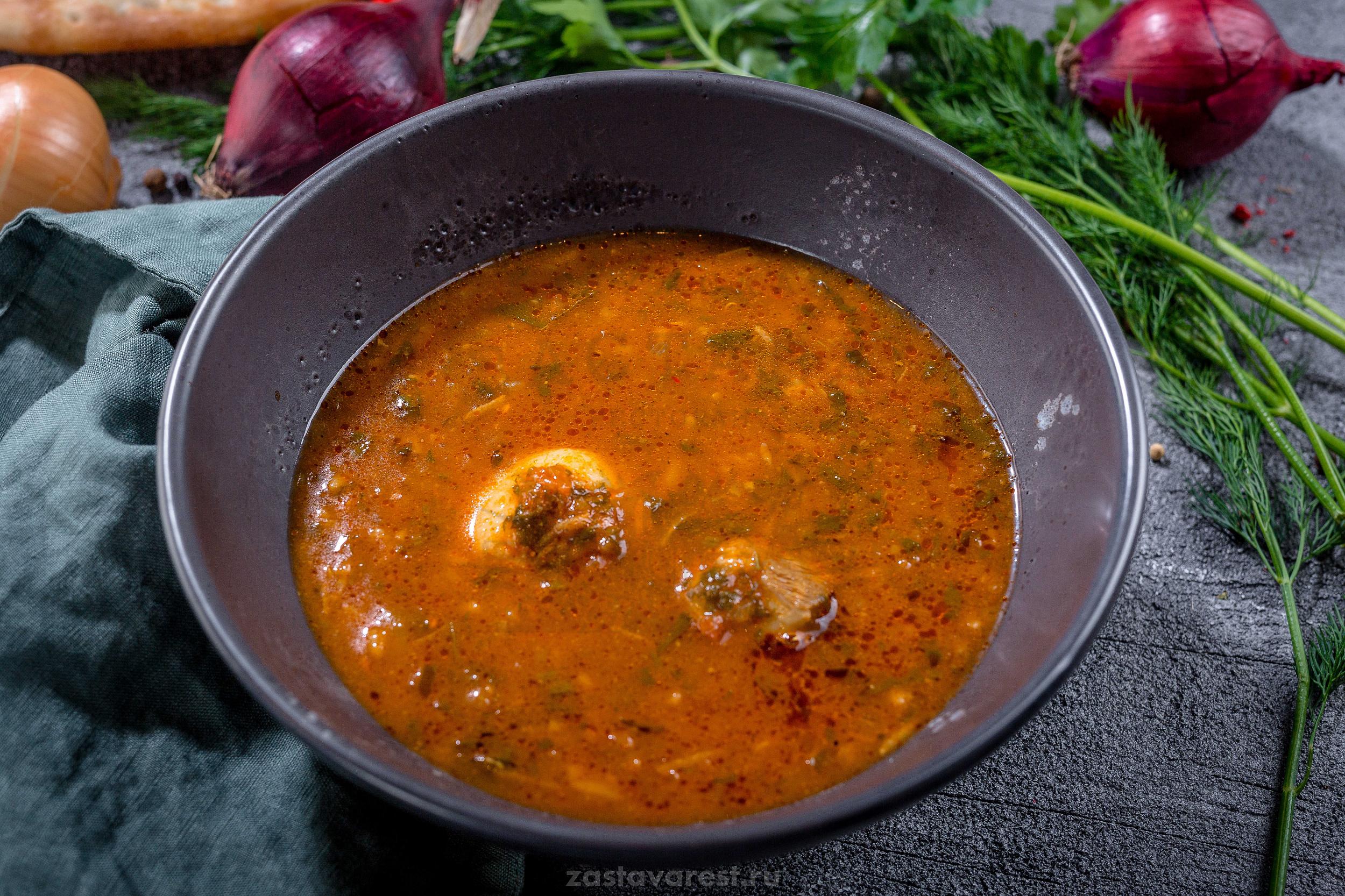Как приготовить пикантный суп с курицей